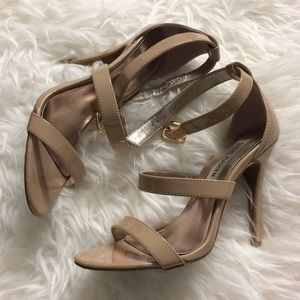 Steve Madden Faux Patent Leather - Size 5.5